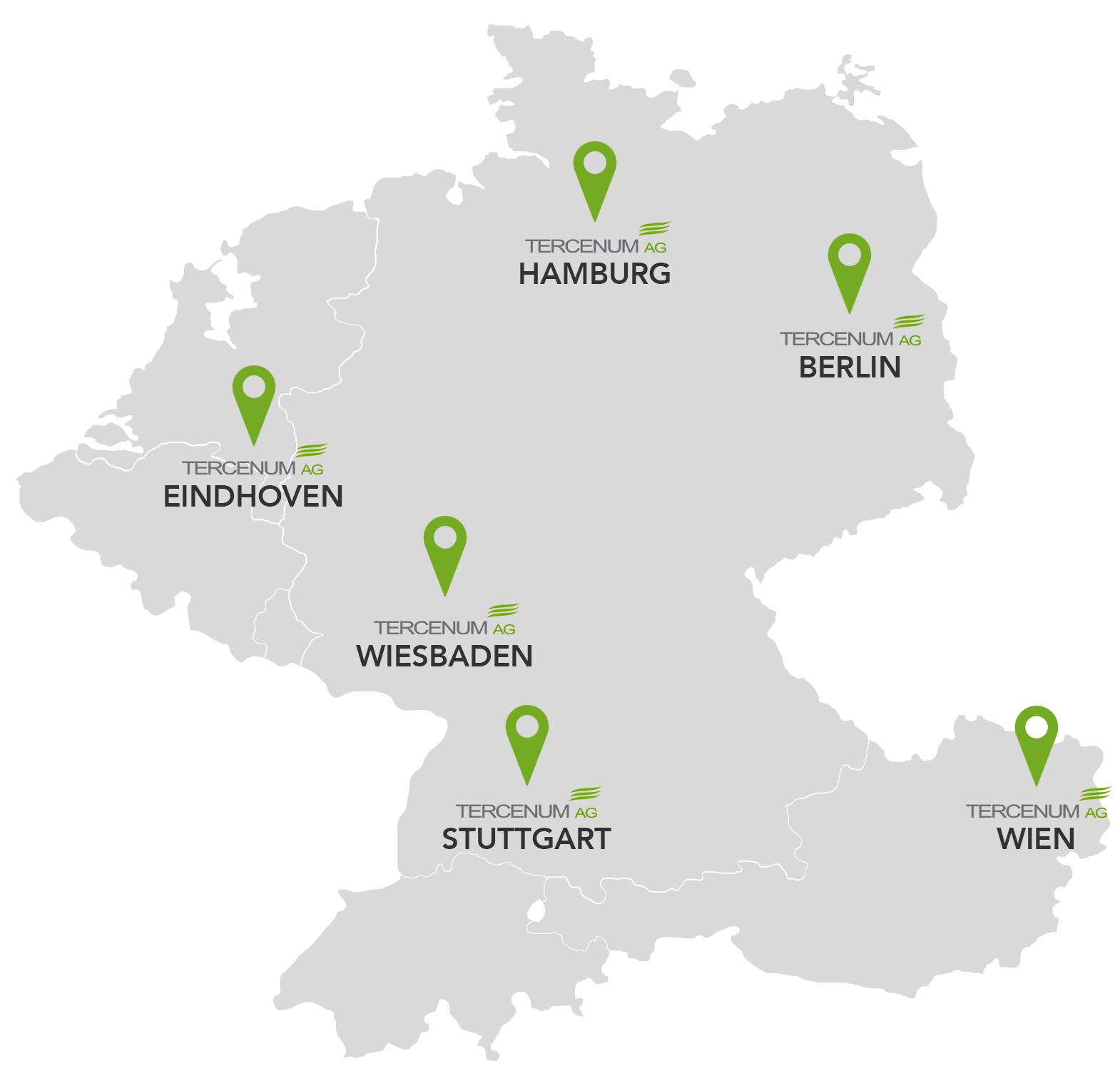 Standorte der TERCENUM AG